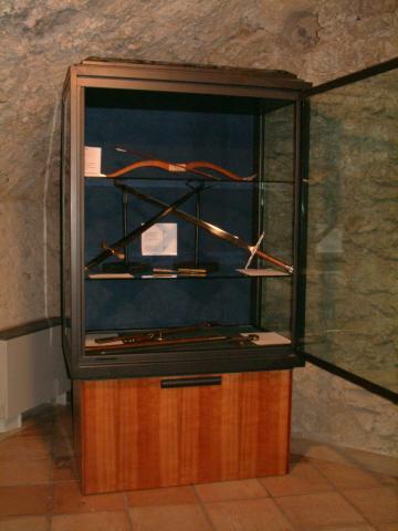 Allestimento Museo delle Armi nel Castello di Santa Severina KR