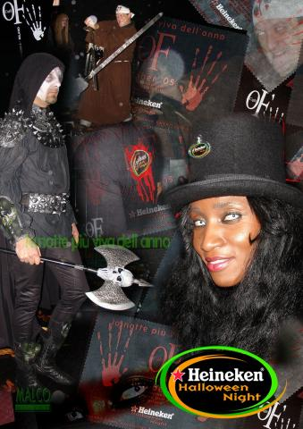 Heineken Halloween Night - OF- costumi e scenografie PV