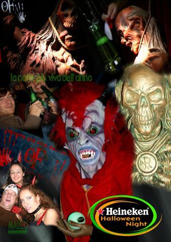 Heineken Halloween Night - arredi e costumi Principessa Valentina